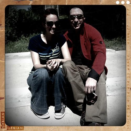 Greg and me