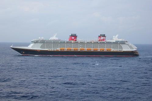 Disney Dream from aboard Disney Fantasy