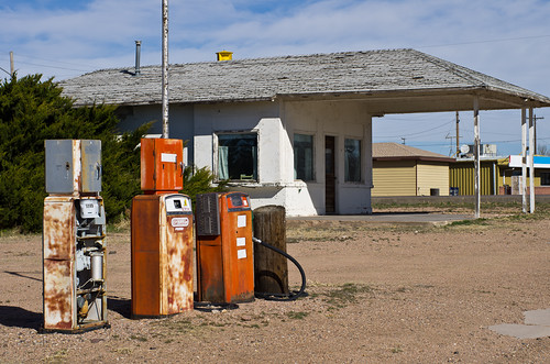 abandoned colorado gasstation co fleming pentaxfa50mmf14 pentaxk5