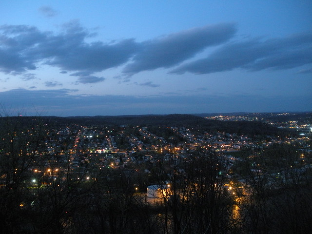 Springdale at Twilight