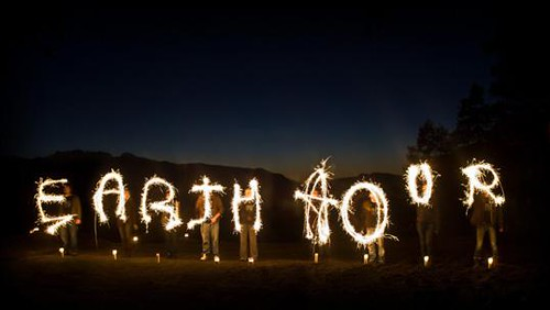 Earth Hour - Light Drawing