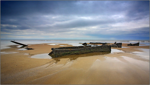 sea sky beach water southwales wales sand canon5d wrecks steelworks porttalbot morfa 1740mml morfabeach opobs michaeljstokesawpf cokinxprofilters