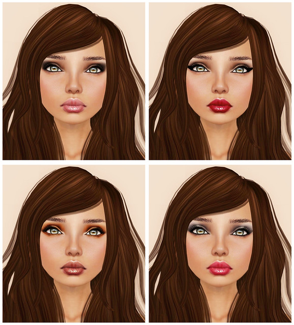 [PXL] KATE SK NE DEB with Glossy Lips  (Tattoos)