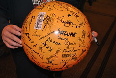 Autographed ball