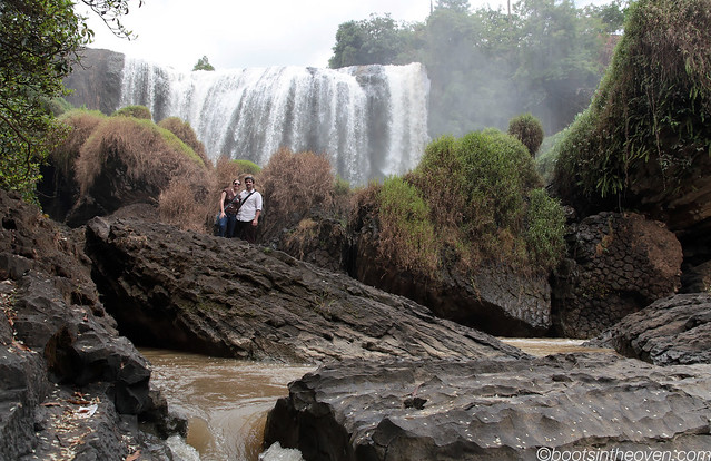 The Happy Couple at Elephant Falls