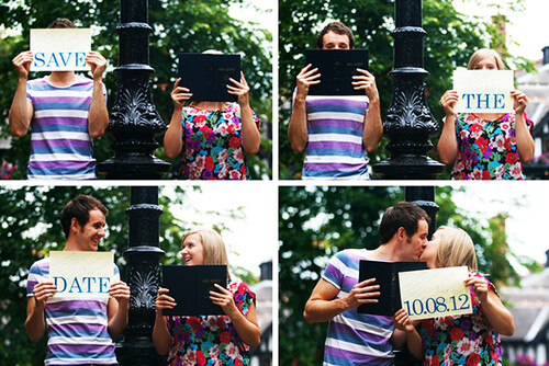 Jonny + Kate- Save the date by say hype!