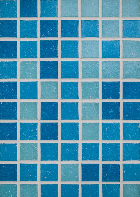 Luxury To Evoke The Fresh Sea Spirit In Your Bathroom, You Can Depend On Mosaic Apply On One Wall A Simple Mosaic Tile Design That Only Plays On The Combination Of Blue &amp White Colors Choosing A Blue Tone Reminds Of The Summery Beach