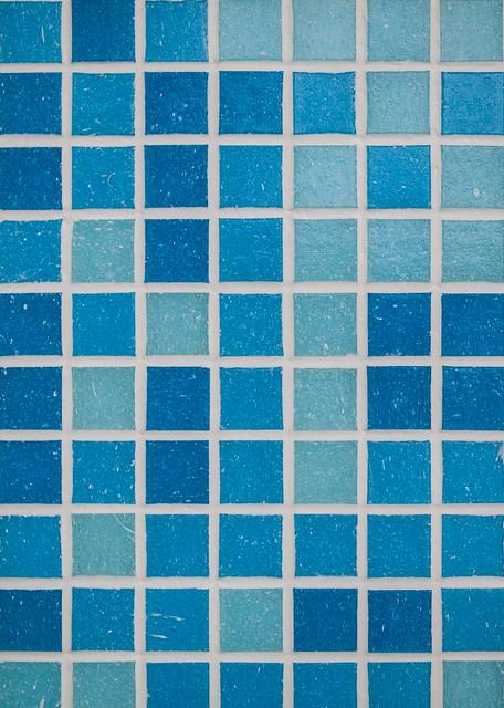 blue mosaic bathroom tiles flickr photo sharing