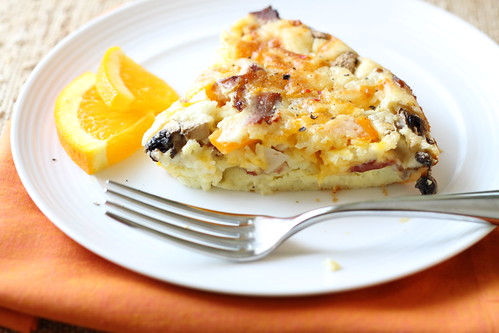 Impossible Breakfast Pie 064