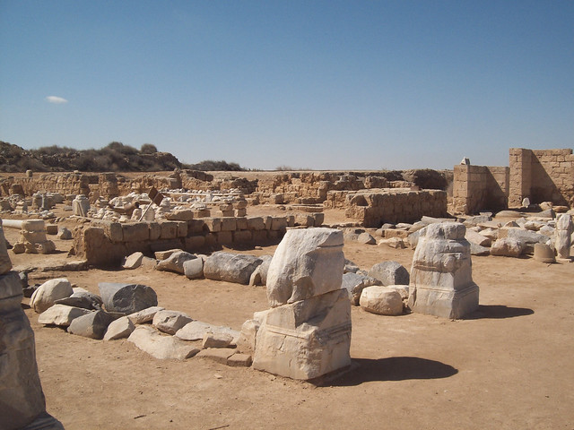 Ruins of the Great Basilica at Abu Mena (I)