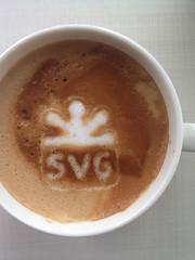 Today's latte, SVG logo.