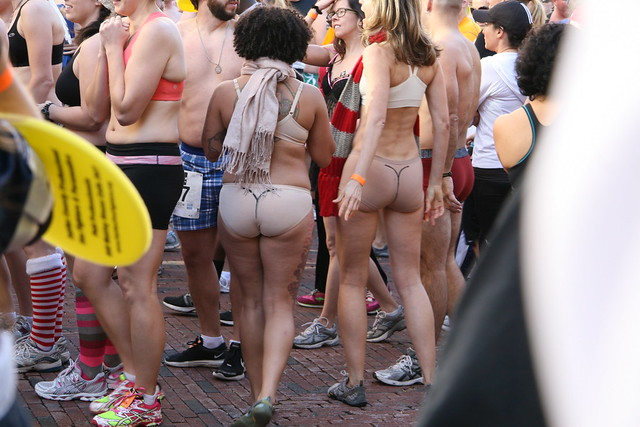 Naked mile run pictures