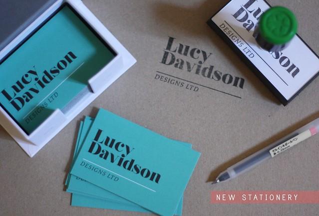 New stationery