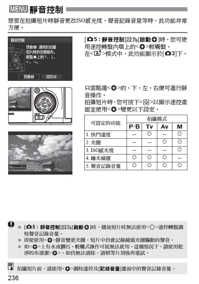 5D3 靜音控制