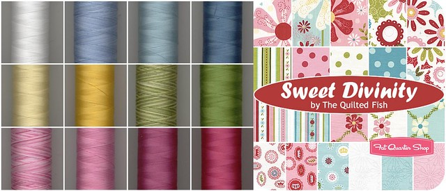 Sweet Divinity inspired 40wt Aurifil Designer Collection