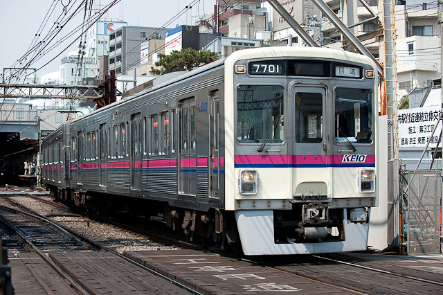京王電鉄7000系 7001F 回送