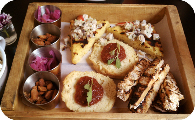 Hillbilly Tea Platter (for two)