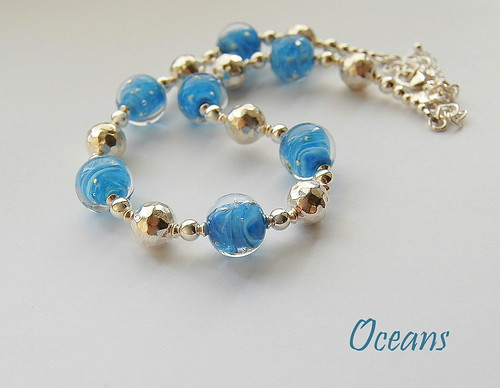 Oceans Necklace - SOLD by gemwaithnia