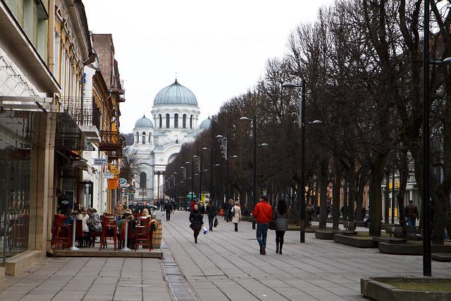 Kaunas. Laisvės alėja