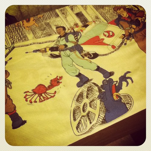 Ghostbusters pillowcase for @litprints