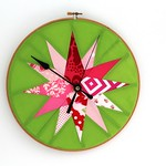 Feather Your Nest Entry - quilter's clock
