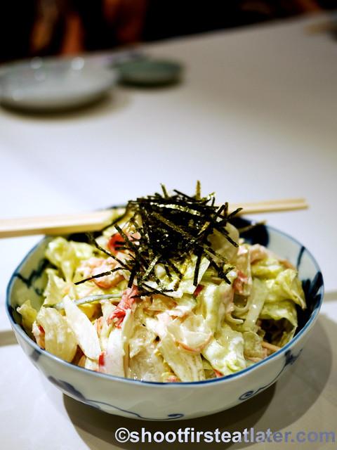 kani special crab & mayonnaise salad P980