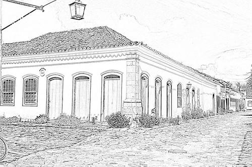 Line Drawing Converter : Digital art tutorials easy line drawings using photoshop