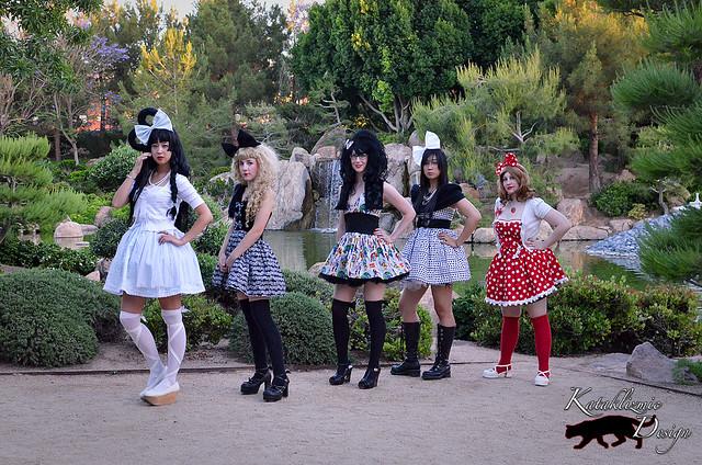 Cake Shop Couture - Lolita Fashion Shoot @ Ani-Mayhem 05-04-12