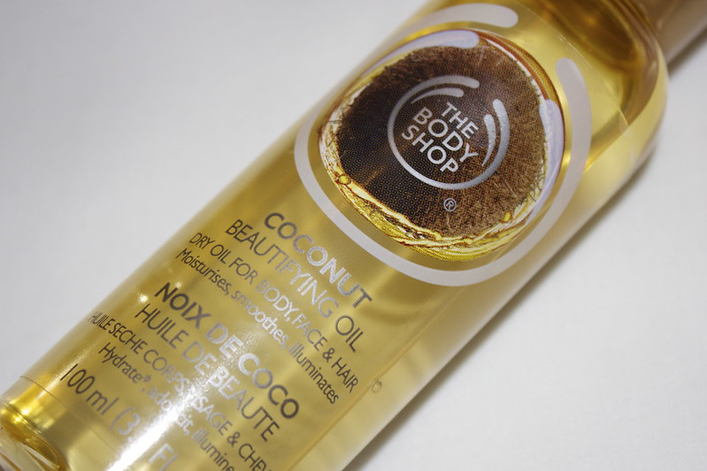 The Body Shop Coconut Beautifying Oil