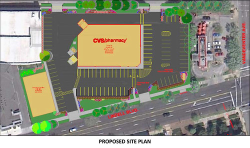 AAA Site - CVS Proposed Site Plan
