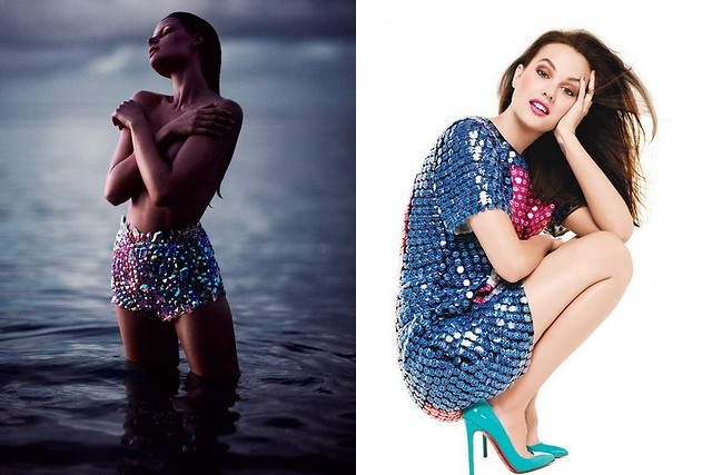 Bekah Jenkins by Chris Nicholls for Flare May 2012 , Leighton Meester for Glamour Mexico June 2012