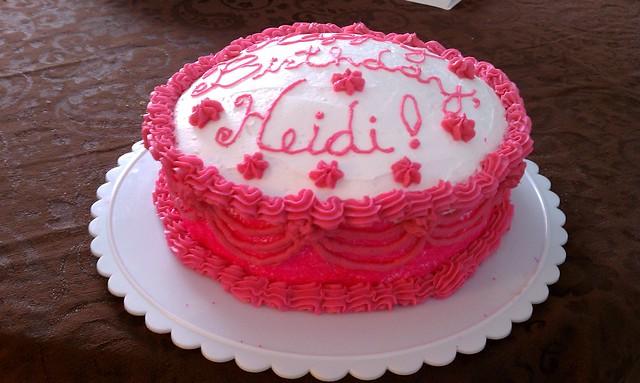 Happy Heidi Cake Plate