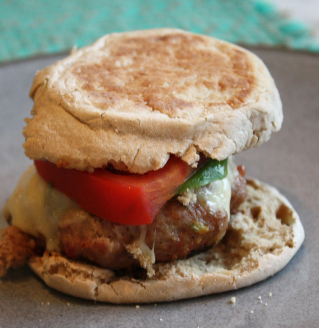 Garlic Mustard & Shallot Turkey Burgers - Home - Kiss My Whisk