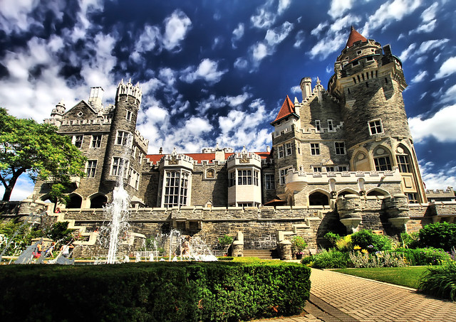 Casa loma castle in toronto flickr photo sharing for Casa loma mansion toronto