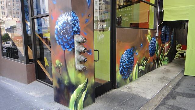 1AM x Claudine x Vogue TDK: Custom Mural Production