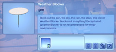 Weather Blocker
