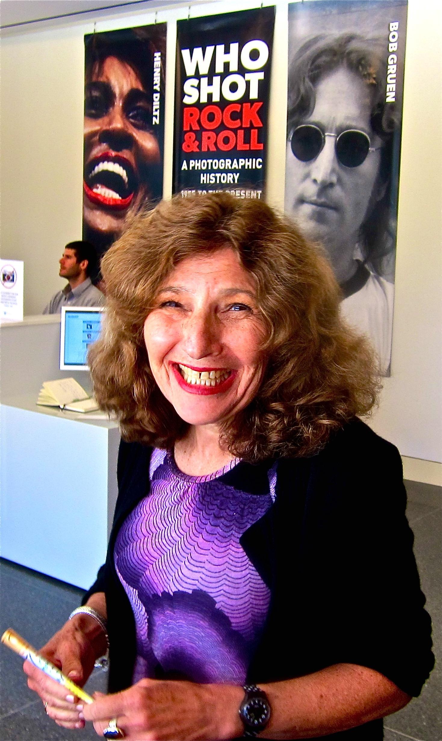 Curator Gail Buckland