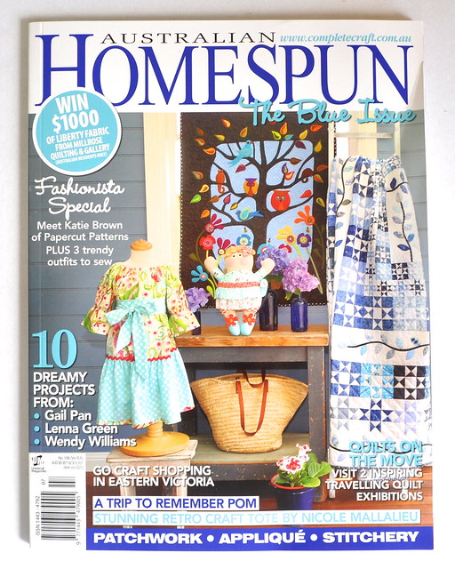 homespun july 2012
