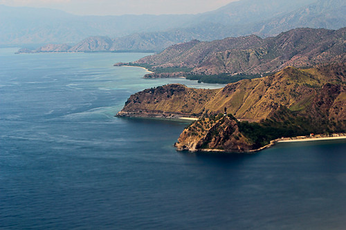 view aerial east timor dili laste peaceonearthorg