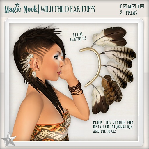 [MAGIC NOOK] Wild Child Ear Cuffs