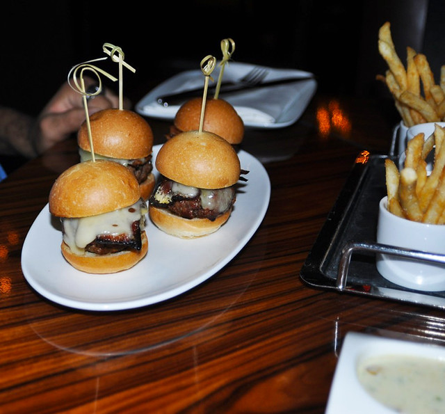 Black Angus Sliders - Fleur by Hubert Keller