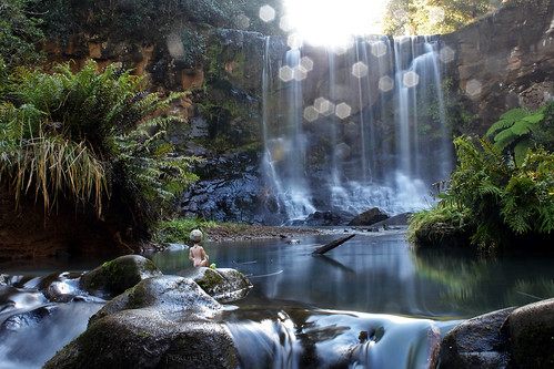 longexposure newzealand nature water canon nude waterfall rainforest doll auckland ferns flowingwater onewithnature waitakereranges 550d t2i mokoroafalls canoneos550d monsterhigh jacksonjekyll