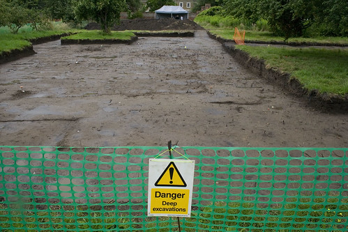 Deep excavations?