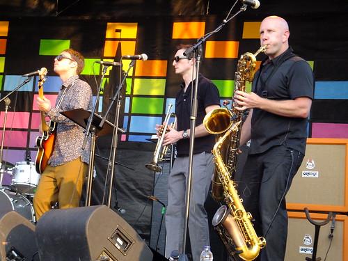 The Monophonics at Ottawa Bluesfest 2012