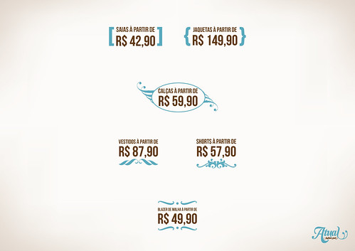 Adesivos - Atual Fashion Store by chambe.com.br