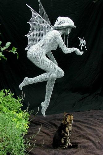 """Derek Kinzett-""""Mother Sprite""""commission 2012"""