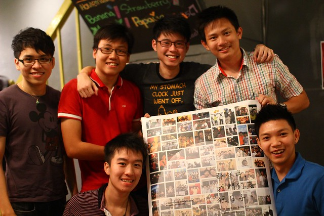 Poster, Steamboat & Beach Street For Arron & Chien Chern
