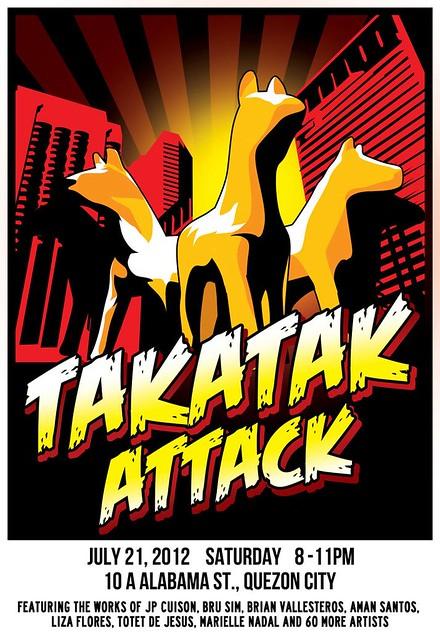 Takatak Attack Poster