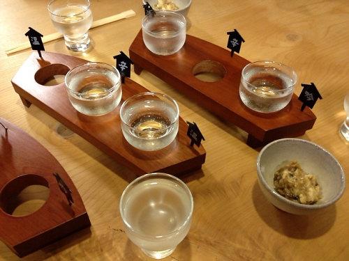 『まほろびすと』で純米酒を飲み比べしました@酒商のより