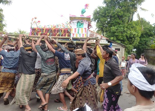 Bali-Funéraille hindoues-Procession (34)